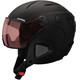 Alpina Attelas Visor QVM Helm zwart